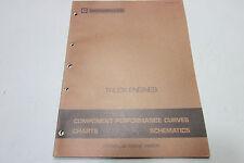 Caterpillar Truck Engines Performance Curves Charts & Schematics Manual 1979