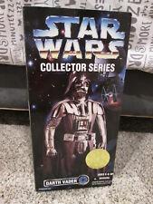 "1996 Kenner Star Wars 12"" Collector Series Action Figure Darth Vader 27726 NIB"