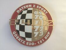 Car Badge - Datsun z Sport Car Badge emblem logos metal enamled car badge