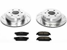 For 2007-2014 Chevrolet Tahoe Brake Pad and Rotor Kit Rear Power Stop 58327TJ