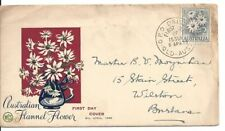 Flowers Australian Postal Stamps by Type