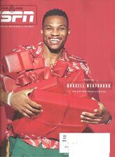 ESPN December 25 2017 Russell Westbrook Red Cover Double Issue Best Deal L@@K !!