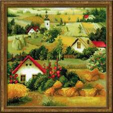 "Cross Stitch Kit RIOLIS - ""Serbian Landscape"""