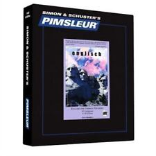 PIMSLEUR English for German Speakers Level  1 CDs ESL