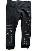 EUC Nike Women's Power Legend Crop JDI GRX Tights, Black, Size L