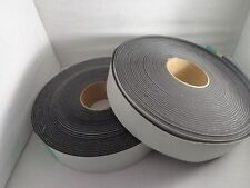 "Adhesive neoprene foam tape,Thick  x 2.0"" Wide x 50 Ft Roll, 2 Rolls"