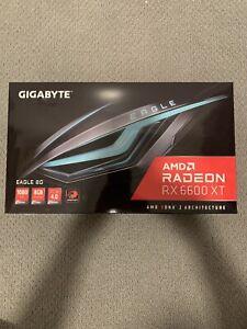 GIGABYTE Radeon RX 6600 XT EAGLE 8G GDDR6 Graphics Card - Black - NEW