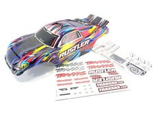 TRAXXAS RUSTLER VXL ROCK N ROLL EDITION BODY WITH DECAL SHEETS 37076 XL5