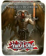 12 x YUGIOH tins Prophecy Destroyer Tin = CASE BRAND NEW SEALED IN HAND!!