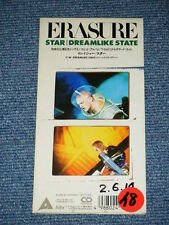 "ERASURE Japan Only 1990 Tall 3"" inch CD Single STAR/DREAMLIKE STATE"