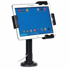 Lockable IPad Tablet Wall Case Desk Mount Stand Secure Anti Theft Counter Holder
