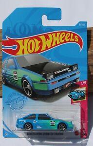 Hot wheels HW Drift Toyota AE86 Sprinter Trueno 1/5 Blue FNQHotwheels FJ13