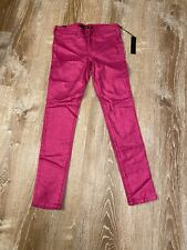 New with Tags Joe's Girls Ultra Slim Fit The Jegging Jeans Shimmer Pink Size 12