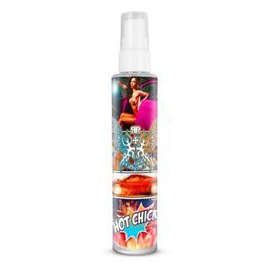 "RRC 100ml Car Air Freshener Spray ""Hot Chick"" Scent Premium Fragrance + Hanger"