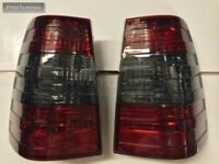 Mercedes Benz W124 S124 W124T Wagon 5D rear taillight RED Dark smoked lamp