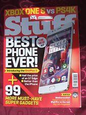 Stuff Gadget Magazine September 2016 # X Box One S Vs PS4K # Best Phone Ever #