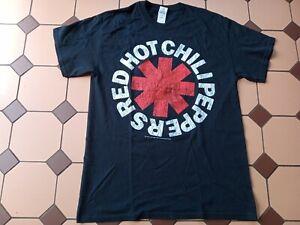 RED HOT CHILI PEPPERS T SHIRT LOGO MEDIUM ROCK METAL