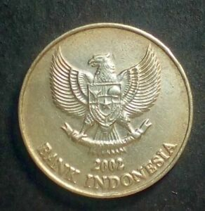Indonesia 500 rupiah 2002 Rare  Combined Shipping