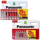 AA & AAA Genuine PANASONIC Zinc Carbon Batteries - New R6 LR03 1.5V Expiry 2024