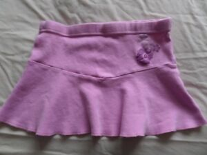 Heatwave Girls Purple 100% Cotton Skater Skirt Size 4-5 Years