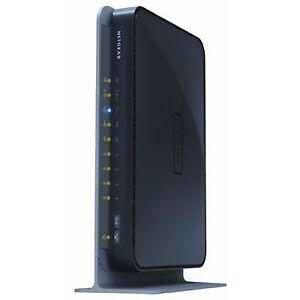 NETGEAR C3000-100NAS N300 Cable Modem Router WiFi DOCSIS 3.0 (C3000)