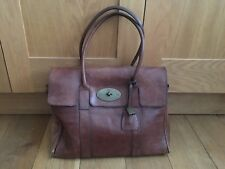 GENUINE MULBERRY TAN LEATHER BAYSWATER BAG (LARGE)