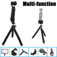 Multifunction Tripod Mount Stand Phone Holder For DJI Osmo Pocket Handheld Cam E