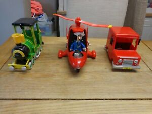 POSTMAN PAT & JESS HELICOPTER WITH SOUNDS & LIGHT & VAN &TRAIN