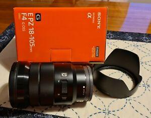 Sony SELP18105G E PZ 18-105mm f/4 G OSS Lens