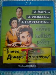 """THERE'S ALWAYS TOMORROW  [Blu Ray] USA Region """"A"""", Brand New Condition"""