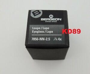 Bergeon 7856-NN-2.5 Eyeglasses for watchmaker In black aluminium SWISS MADE