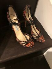 Jimmy Choo Lace Up High Heel Sandals 39.5