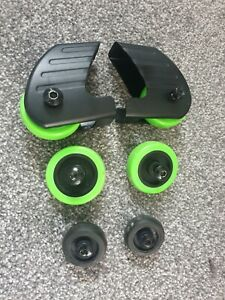 Reebok ZR11 Treadmill wheels full set of 3 pairs 6 wheels total with bolts used