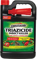 1 Gallon Triazicide Insect Killer Spray Pest Control For Lawns and Landscapes