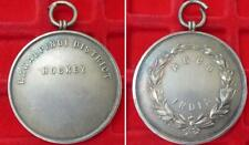 More details for india rawalpindi district hockey ascb india silver medal 45mm 41g army sport1930
