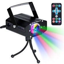 Mini Luz de Escenario con Control Remoto Disco de Luz DJ Disco Efecto Proyector