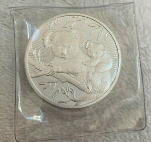 2018 Silver 2oz Mother & Baby Coin Perth Mint