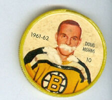 DOUG MOHNS 1961-62 Salada / Shirriff Coin NHL Hockey #10 P '61 Boston Bruins