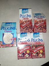 Lot of New Glade Plug Ins 1 warmer & 12 refills Os Country Garden, Spice, Apple