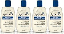 4 Pack Aveeno Anti-Itch Concentrated Lotion - 4 oz Each