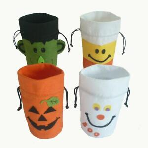 Large Halloween Non Woven Drawstring Gift Bag Candy Bags Gift Favors