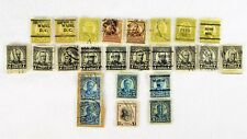 1920's Stamps - 8 & 4 Cent Grant, 7 Cent McKinley, 5 Cent Roosevelt, & Woodrow W