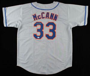 James McCann Signed New York Mets Jersey (Beckett COA) 2019 All Star Catcher