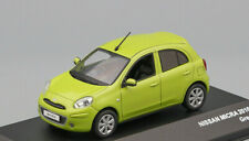 NISSAN MICRA - 2010 - GREEN 1:43 J Collection #JC201 SALE!