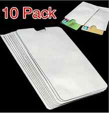 10 x RFID Blocking ID Credit Card Passport Secure Sleeve Protector holder