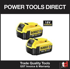 NEW DEWALT 18V BATTERY CORDLESS DCB182-XE 4AMP BATTERIES x 2 OFF - LITHIUM ION