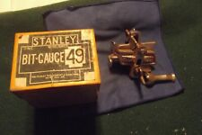 Vintage Stanley Bit Gauge 49  In Its Original Box