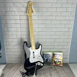 Rock Band Xbox 360 Wired Guitar Controller - Fender Stratocaster