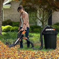Worx Trivac Blower Mulcher And Vacuum With Leaf Pro Collection Lightweight S