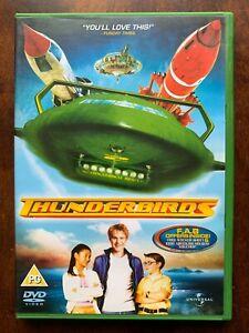 Thunderbirds DVD 2004 Movie Feature Film w/ Bill Paxton + Anthony Edwards
